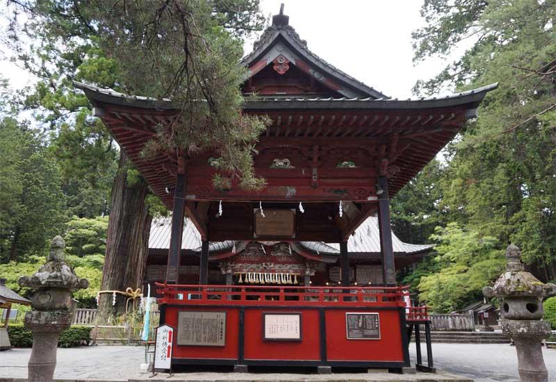 北口本宮冨士浅間神社 神楽殿