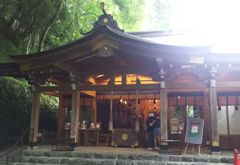 貴船神社 社殿