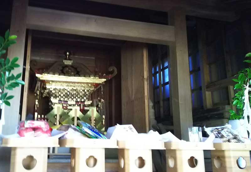 櫻井 浅間神社 神輿