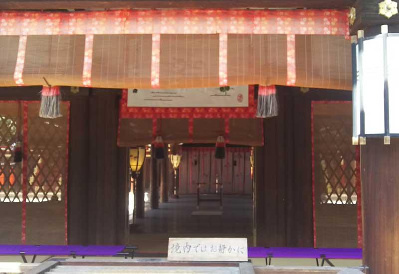 下鴨神社 拝殿