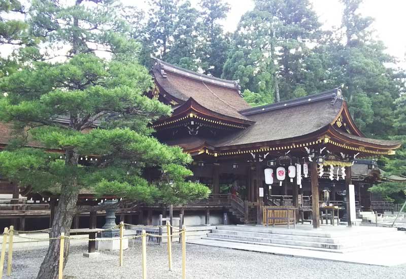 多賀大社 社殿