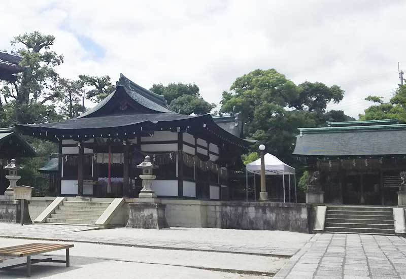 わら天神宮 社殿
