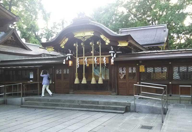 護王神社 社殿