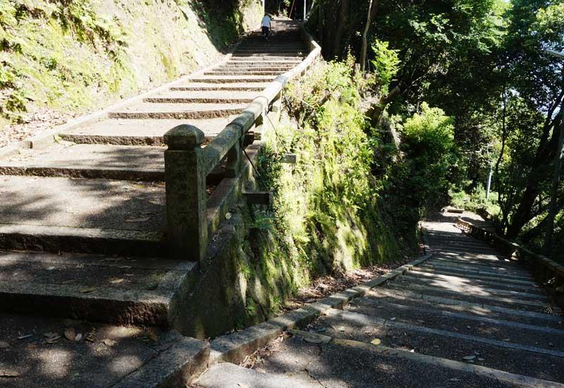 石清水八幡宮 石階段