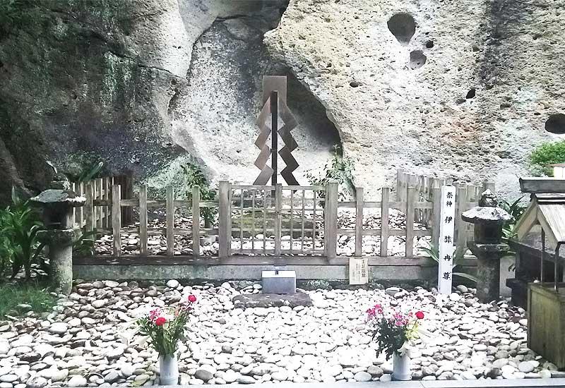 花の窟神社 伊邪那美命