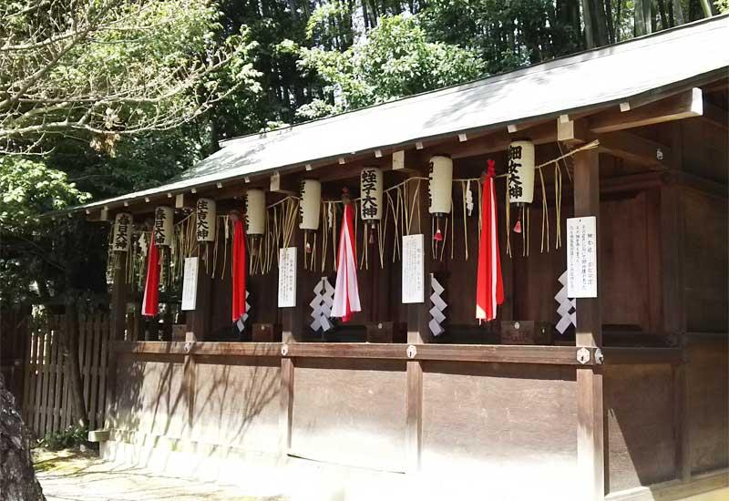 平野神社 末社